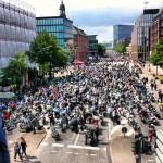 Biker Service at St. Michel's.  Hamburg, May, 2012