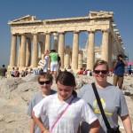 The Parthenon.  Athens, Greece, July, 2012