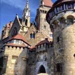 The Castle Kreuzenstein.  Vienna, Austria, Sept. 2012