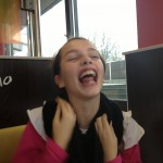 Cayla has my sense of humor!